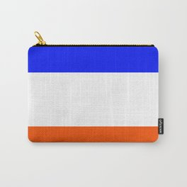 TEAM COLORS 8.....Orange, blue white Carry-All Pouch