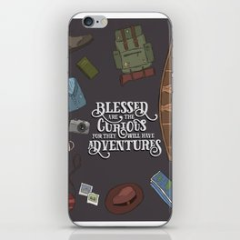For They Will Have Adventure iPhone Skin