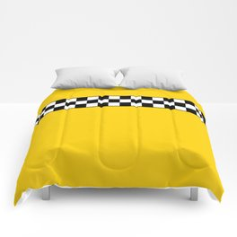 NY Taxi Cab Cosplay Comforters
