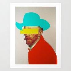 I wanna be a cowboy 3 Art Print