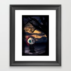 Sadness Self Framed Art Print