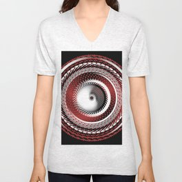 Spinning Out of Control Unisex V-Neck