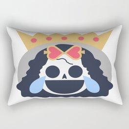 Brook Emoji Design Rectangular Pillow