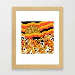 Mr. Sun Framed Art Print