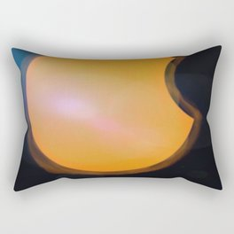 Total Moon Eclipse Rectangular Pillow