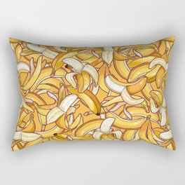 Yellow banana dream. Rectangular Pillow
