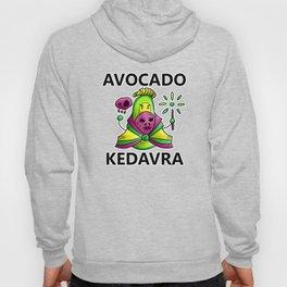 Avocado Kedavra - Death Eater Avocado with Wand Hoody