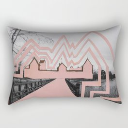 Trakai Castel // de-characterization Rectangular Pillow
