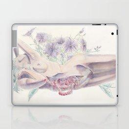 Bathing in a Violet Garden Laptop & iPad Skin