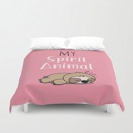 MY SPIRIT ANIMAL - Sleepy Sloth Duvet Cover