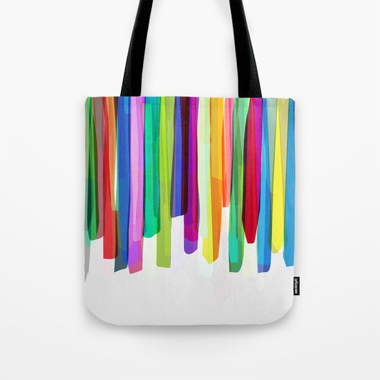Colorful Stripes 2 Tote Bag