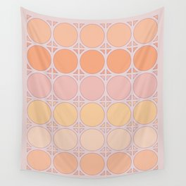 Lilac Connection Wall Tapestry