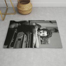Lorraine Hansberry - Black Culture - Black History Rug