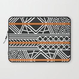 Tribal ethnic geometric pattern 022 Laptop Sleeve