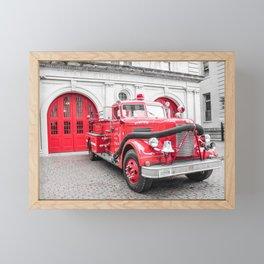 Fire Engine House No. 1 Framed Mini Art Print