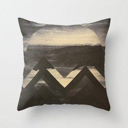 Fractions B05 Throw Pillow