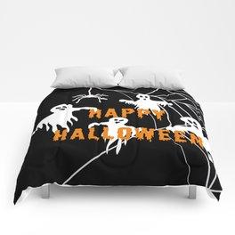 Monsters Happy Halloween Comforters