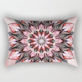 Passion Mandala Rectangular Pillow
