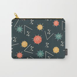 Mid Century Modern Sputnik Starburst Planets 5 Carry-All Pouch