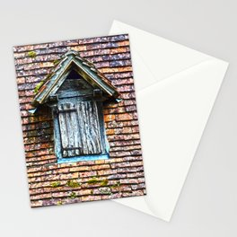 Magical window of a little village of France - Fine Art Travel Photography Stationery Cards