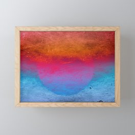 Fireball Framed Mini Art Print