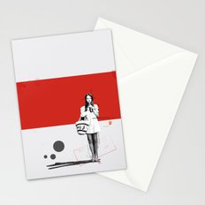 June | Collage Stationery Cards