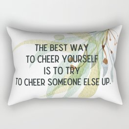 Cheer up - Mark Twain Collection Rectangular Pillow
