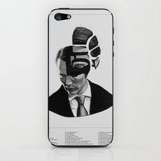 Hannibal Lecter Phrenology iPhone & iPod Skin