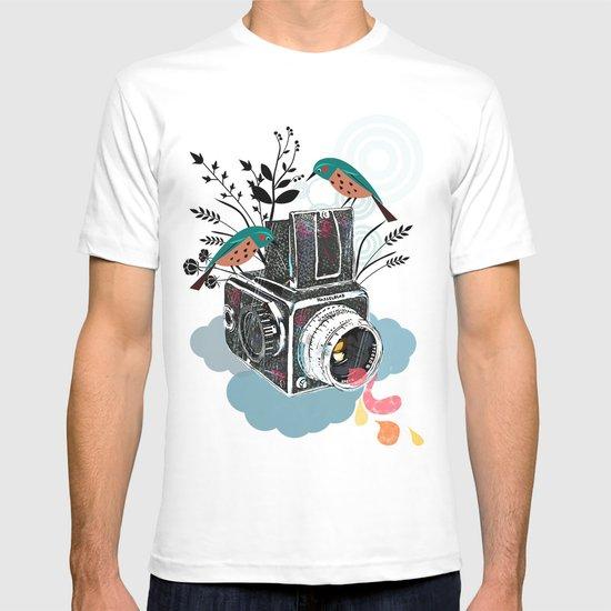 Vintage Camera Hasselblad T-shirt