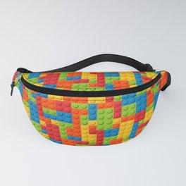 Bricks geometric pattern Fanny Pack