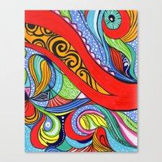 Tentacles 2 Canvas Print