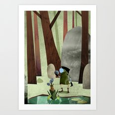 The Potion Maker Art Print