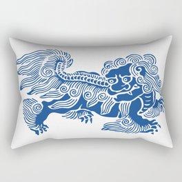 Lucky Lion Rectangular Pillow
