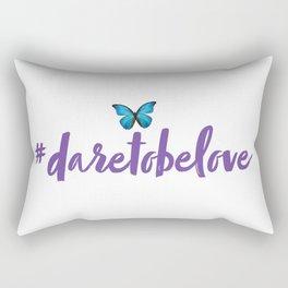 #daretobelove Rectangular Pillow