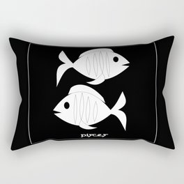 Fishes ~ Pisces ~ Zodiac series Rectangular Pillow