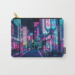 A Neon Wonderland called Tokyo Carry-All Pouch