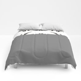 retro car garage tee shirt Comforters