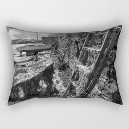 Estuary Steps Rectangular Pillow