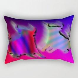 Two bulls Rectangular Pillow