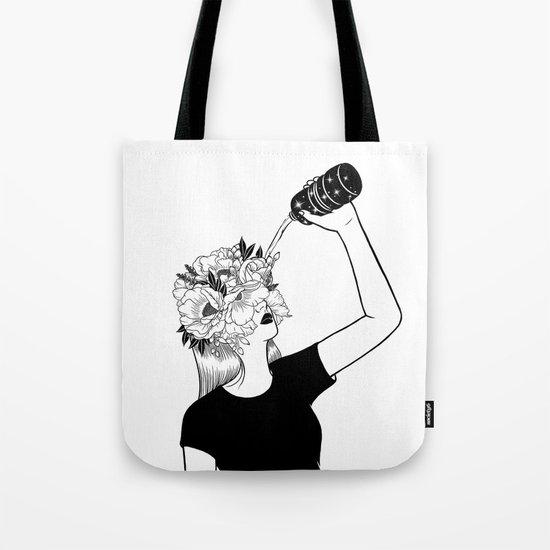 Feed the ego Tote Bag