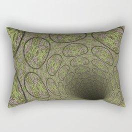 Dark Abyss Tubular Mandalas 4 Rectangular Pillow