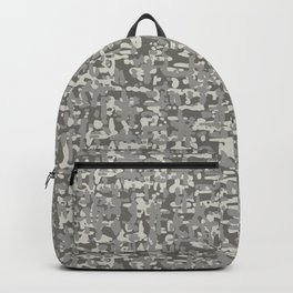 Graphiti Woven Texture Backpack