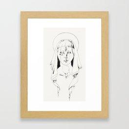 The Virgin  Framed Art Print