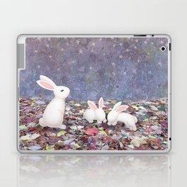 bunnies under the stars Laptop & iPad Skin