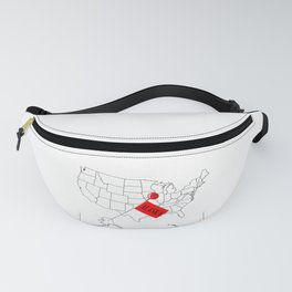 Eye Of The Storm Fanny Pack