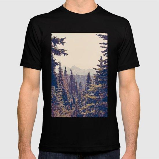 Mountains through the Trees T-shirt