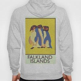 Falkland Islands travel poster Hoody