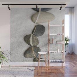 zen pebble line Wall Mural