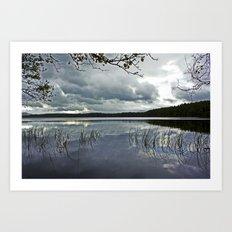 Loch Garten, Scotland.  Art Print