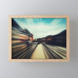 Strasbourg teleportation Framed Mini Art Print